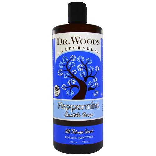 Dr. Woods, Peppermint Castile Soap, 32 fl oz (946 ml) Review