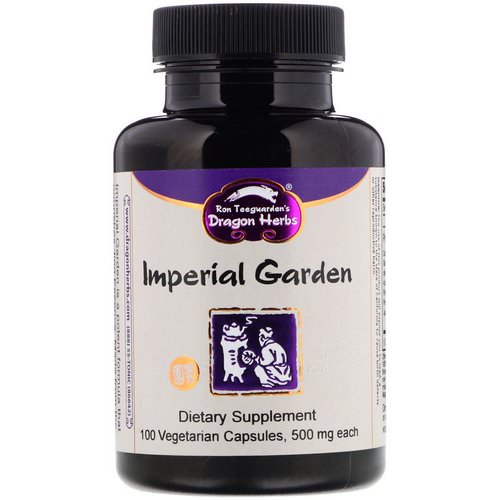 Dragon Herbs, Imperial Garden, 500 mg, 100 Vegetarian Capsules Review