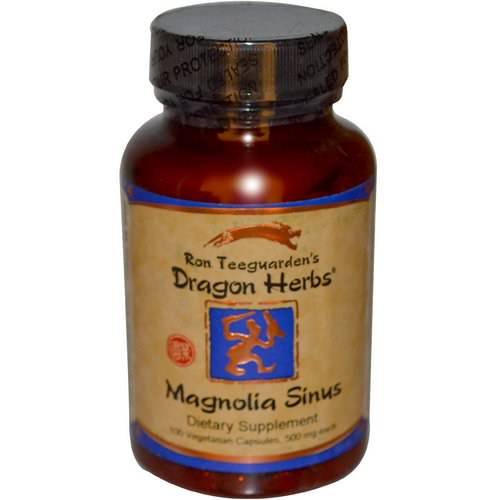 Dragon Herbs, Magnolia Sinus, 500 mg, 100 Veggie Caps Review