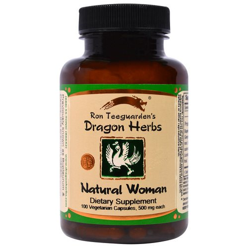 Dragon Herbs, Natural Woman, 470 mg, 100 Veggie Caps Review