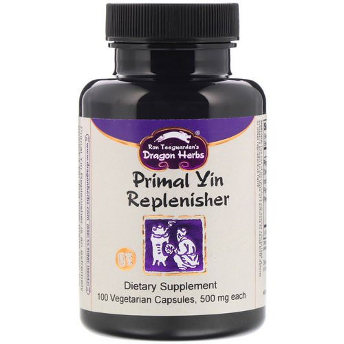 Dragon Herbs, Primal Yin Replenisher, 500 mg, 100 Vegetarian Capsules Review