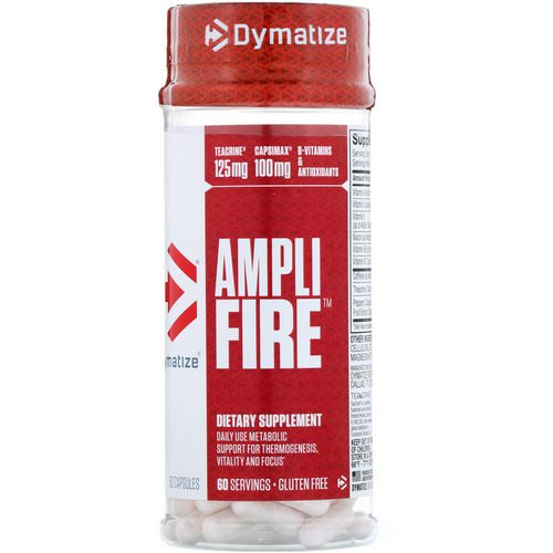 Dymatize Nutrition, Ampli-Fire, 60 Capsules Review