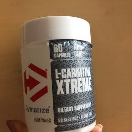 Dymatize Nutrition, L-Carnitine Xtreme, 60 Capsules Review