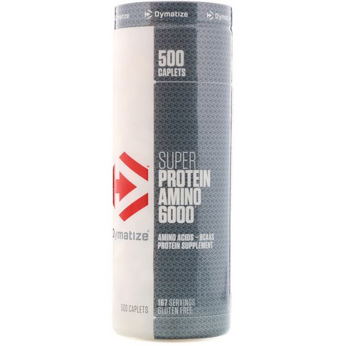 Dymatize Nutrition, Super Protein Amino 6000, 500 Caplets Review
