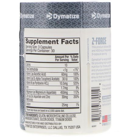 Multimineral Formulas, Minerals, Supplements, ZMA, Post-Workout Recovery, Sports Nutrition