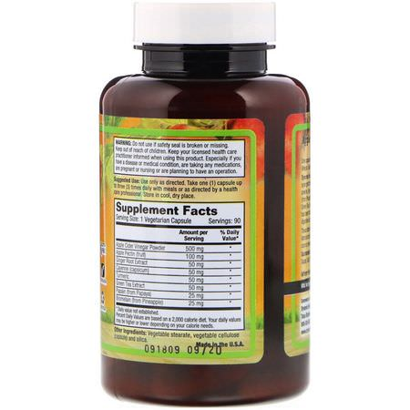 Apple Cider Vinegar, Weight, Diet, Supplements