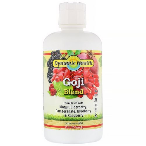 Dynamic Health Laboratories, Goji Blend, 32 fl oz (946 ml) Review