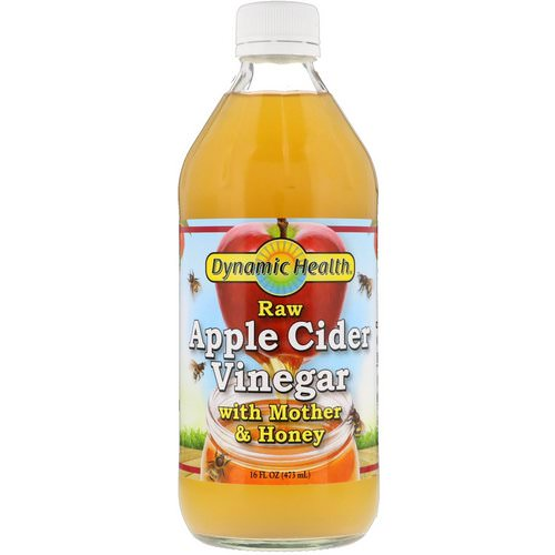 Dynamic Health Laboratories, Raw Apple Cider Vinegar with Mother & Honey, 16 fl oz (473 ml) Review