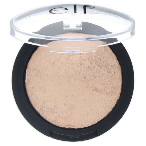 E.L.F, Baked Highlighter, Blush Gems, 0.17 oz (5 g) Review