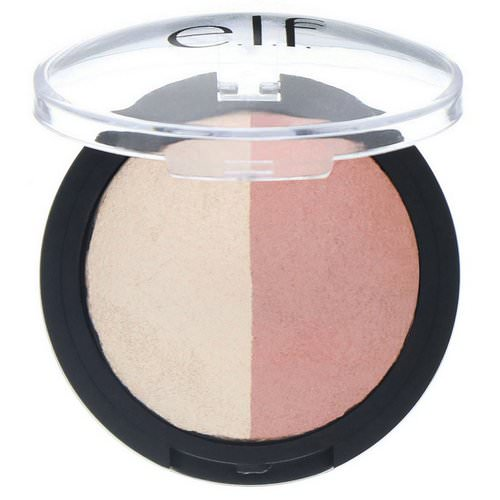E.L.F, Baked Highlighter & Blush, Rose Gold, 0.18 oz (5 g) Review