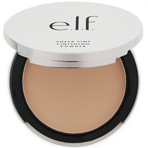 E.L.F, Beautifully Bare, Sheer Tint Finishing Powder, Light/Medium, 0.33 oz (9.4 g) Review