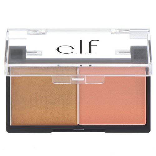 E.L.F, Best Friend Eyeshadow Duo, Peach Squad, 0.11 oz (3.0 g) Review