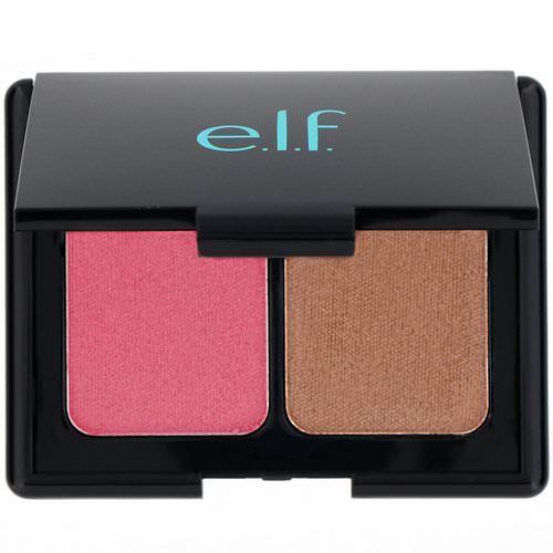 E.L.F, Aqua Beauty, Aqua-Infused Blush & Bronzer, Bronzed Pink Beige, 0.29 oz (8.5 g) Review
