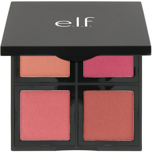 E.L.F, Blush Palette, Dark, Powder, .56 oz (16 g) Review