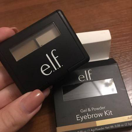 E.L.F, Eyebrow Kit, Gel & Powder, Ash, Gel 0.05 oz (1.4 g) Powder 0.08 oz. (2.3 g) Review