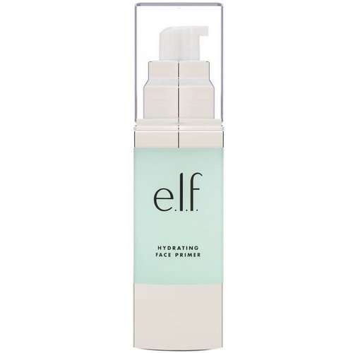 E.L.F, Hydrating Face Primer, Clear, 1.01 fl oz (30 ml) Review