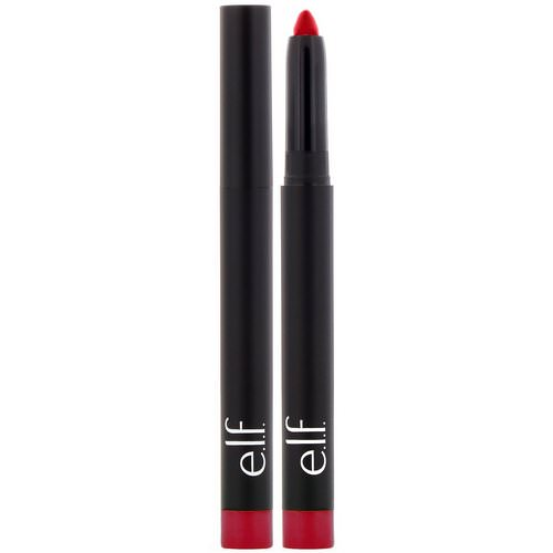 E.L.F, Matte Lip Color, Rich Red, 0.05 oz (1.4 g) Review
