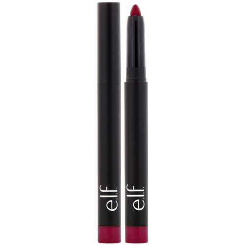 E.L.F, Matte Lip Color, Wine, 0.05 oz (1.4 g) Review