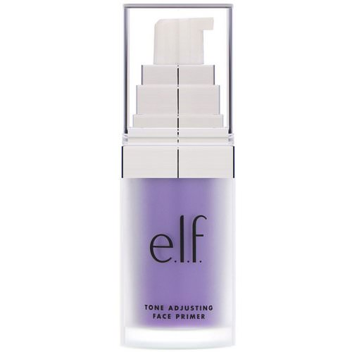 E.L.F, Tone Adjusting Face Primer, Brightening Lavender, 0.47 fl oz (14 ml) Review