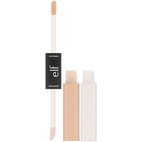 E.L.F, Under Eye Concealer & Highlighter, Glow/Light, 0.17 oz (5 g)/0.17 oz (5 g) Review