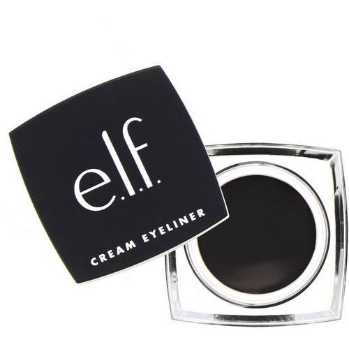 E.L.F, Cream Eyeliner, Black, 0.17 oz (4.7 g) Review
