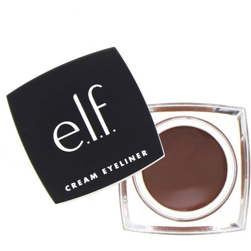 E.L.F, Cream Eyeliner, Coffee, 0.17 oz (4.7 g) Review