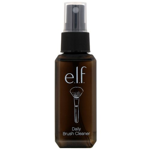 E.L.F, Daily Brush Cleaner, Clear, 2.02 fl oz (60 ml) Review