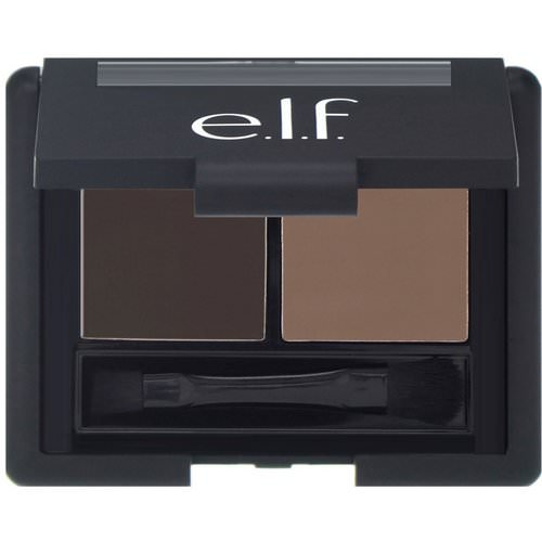 E.L.F, Eyebrow Kit, Gel & Powder, Medium, Gel 0.05 oz (1.4 g) - Powder 0.08 oz (2.3 g) Review