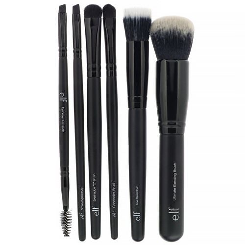 E.L.F, Flawless Face Kit, 6 Piece Brush Collection Review