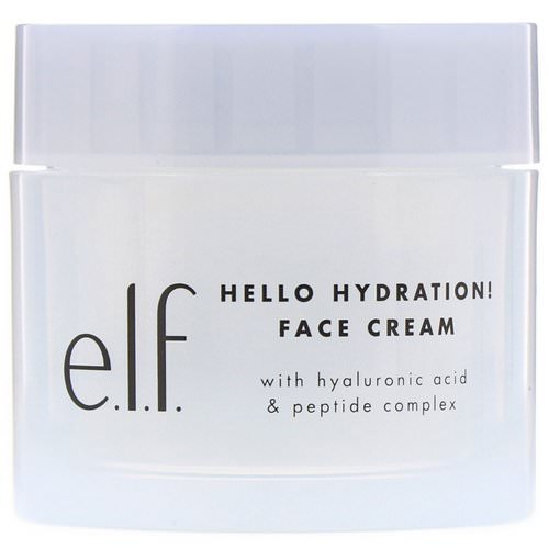 E.L.F, Hello Hydration! Face Cream, 1.8 oz (50 g) Review