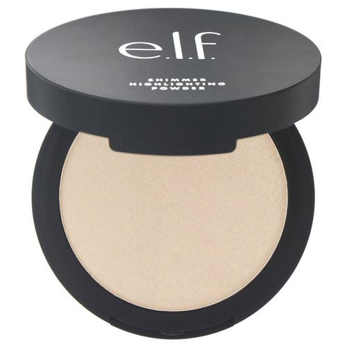E.L.F, Shimmer Highlighting Powder, Pearl Glow, 0.28 oz (8 g) Review