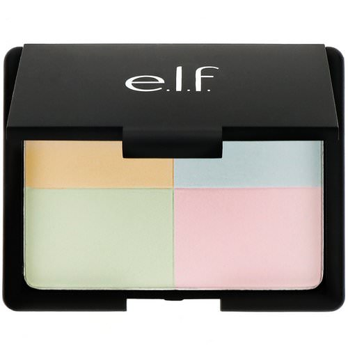 E.L.F, Tone Correcting Powder, Cool, 0.48 oz (13.5 g) Review