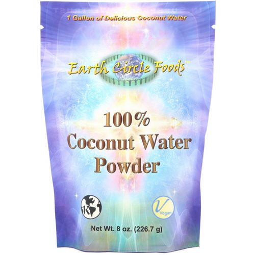 Earth Circle Organics, 100% Coconut Water Powder, 8 oz (226.7 g) Review