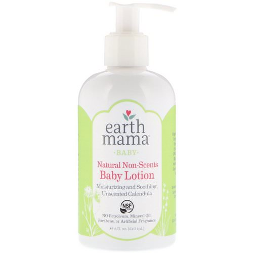 Earth Mama, Baby, Natural Non-Scents, Baby Lotion, Unscented Calendula, 8 fl oz (240 ml) Review