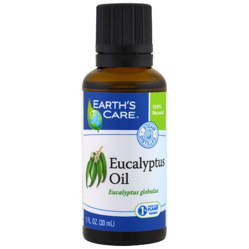 Earth's Care, Eucalyptus Oil, 1 fl oz (30 ml) Review