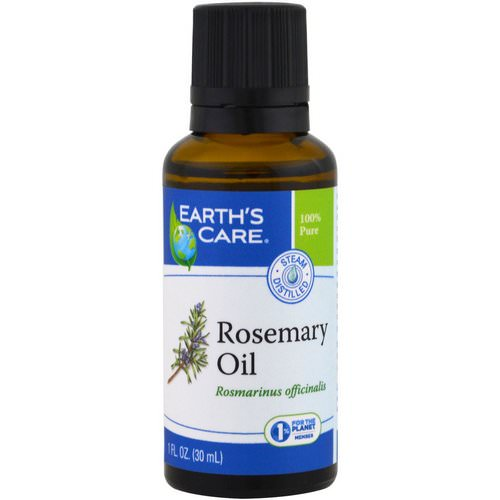 Earth's Care, Rosemary Oil, 1 fl oz (30 ml) Review