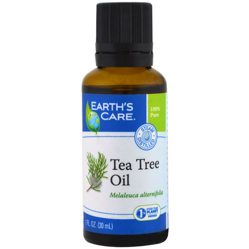 Earth's Care, Tea Tree Oil, 1 fl oz (30 ml) Review