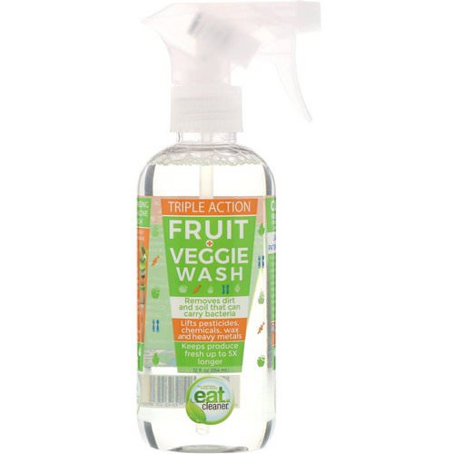 Eat Cleaner, Triple Action Fruit and Veggie Wash, 12 fl oz (354 ml) Review