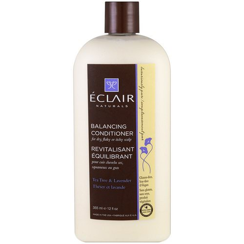 Eclair Naturals, Balancing Conditioner, Tea Tree & Lavender, 12 fl oz (355 ml) Review
