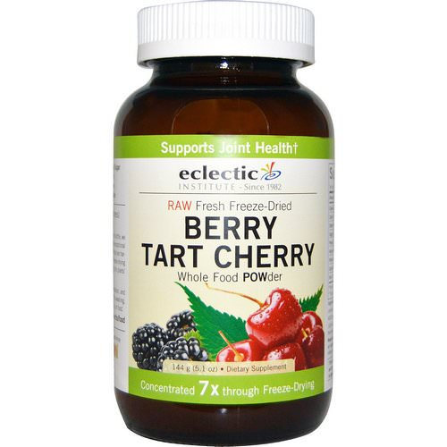 Eclectic Institute, Berry Tart Cherry, Whole Food Powder, 5.1 oz (144 g) Review