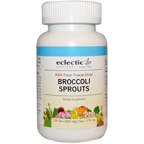 Eclectic Institute, Broccoli Sprouts, 270 mg, 150 Veggie Caps Review
