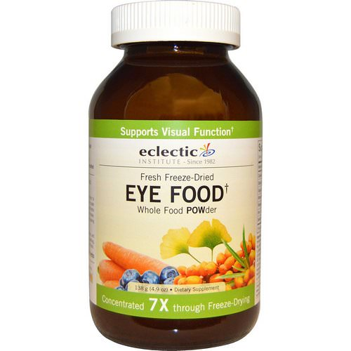 Eclectic Institute, Eye Food, Whole Food POWder, 4.9 oz (138 g) Review
