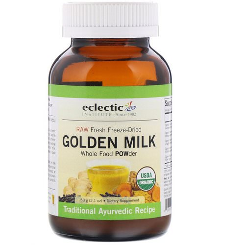 Eclectic Institute, Golden Milk, 2.1 oz (60 g) Review