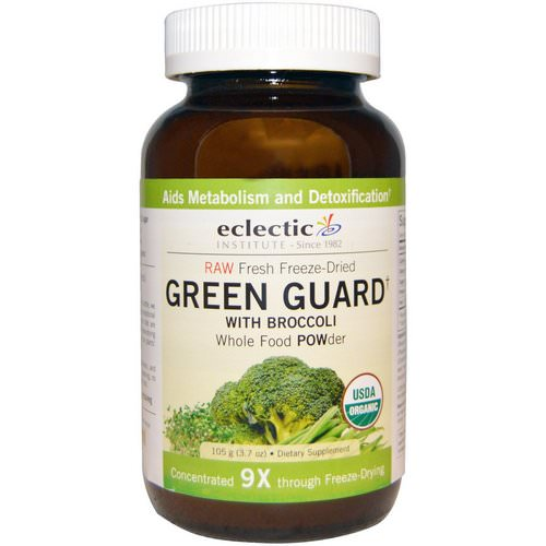 Eclectic Institute, Green Guard with Broccoli, Whole Food POWder, 3.7 oz (105 g) Review