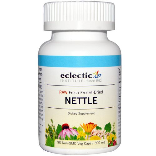 Eclectic Institute, Nettle, 300 mg, 90 Veggie Caps Review