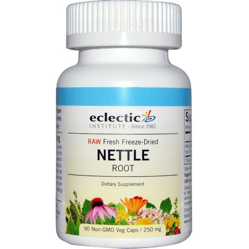Eclectic Institute, Nettle Root, Raw, 250 mg, 90 Non-GMO Veggie Caps Review