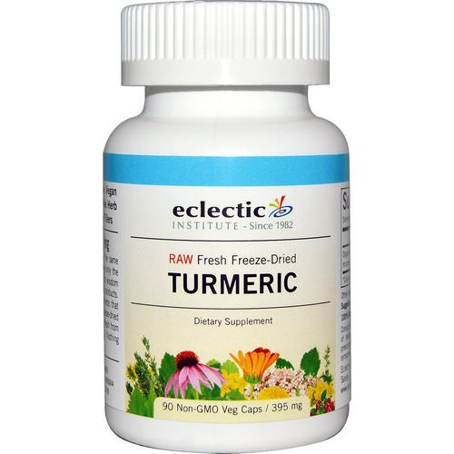 Eclectic Institute, Turmeric, 395 mg, 90 Non-GMO Veggie Caps Review