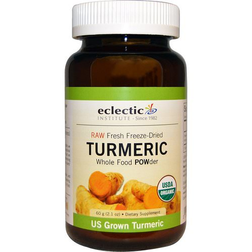 Eclectic Institute, Turmeric, Whole Food POWder, 2.1 oz (60 g) Review