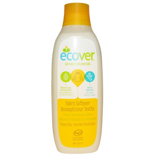 Ecover, Fabric Softener, Sunny Day, 32 fl oz (946 ml) Review