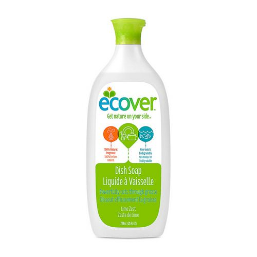 Ecover, Liquid Dish Soap, Lime Zest, 25 fl oz (739 ml) Review